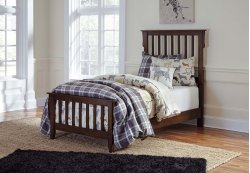 Strenton - Brown 2 Piece Bed Set (Twin)