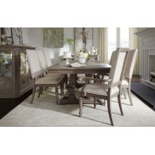 Manor House Double Pedestal Table