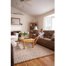 Pebbles Mink Hand Knotted Rugs