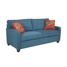 #251 Dyno Denim/Exhale Poppy Living Room
