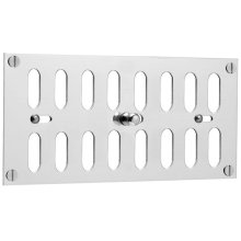 """Chrome Plate Hit and miss ventilator, 8 15/16"""" x 6"""""""