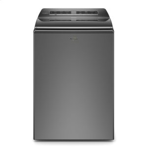 5.3 cu. ft. Smart Capable Top Load Washer - CHROME SHADOW