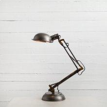 Spring Desk Lamp-pewter