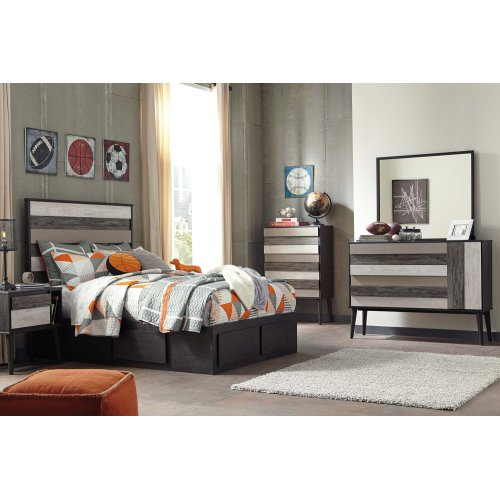 Micco - Multi 2 Piece Bedroom Set
