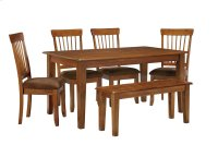 Berringer - Rustic Brown 6 Piece Dining Room Set Product Image