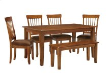 Berringer - Rustic Brown 6 Piece Dining Room Set