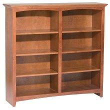 """GAC 48""""H x 48""""W McKenzie Alder Bookcase"""