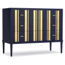 Bedroom Parker Striped Bachelors Chest Product Image