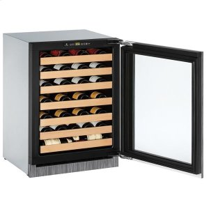 "U-Line24"" Wine Refrigerator With Integrated Frame Finish (230 V/50 Hz Volts /50 Hz Hz)"