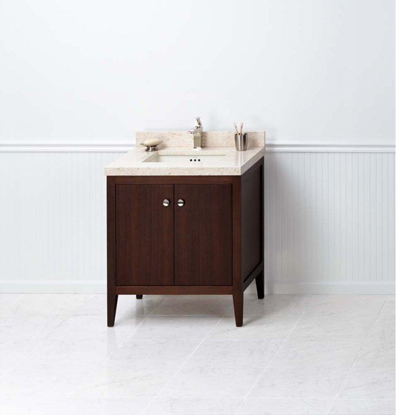 058330e56 In American Walnut By Ronbow Washington Dc Sophie 30 Bathroom Vanity Cabinet Base