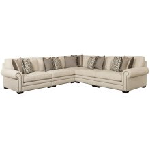Grandview Sectional in Mocha (751)