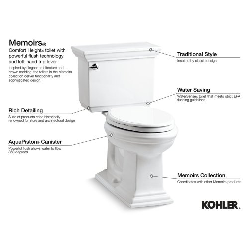 Almond Comfort Height One-piece Elongated 1.28 Gpf Toilet With Aquapiston Flushing Technology and Right-hand Trip Lever