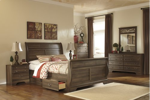 Ashley Queen Sleigh Bed