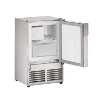 "Marine Series 14"" Marine Crescent Ice Maker With Stainless Solid Finish and Field Reversible (no Flange) Door Swing (115 Volts / 60 Hz)"
