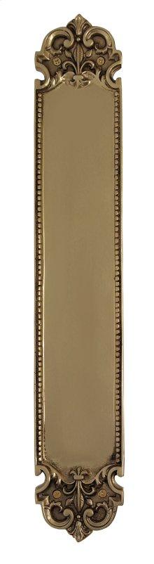 Nostalgic Warehouse - San Francisco Pushplate in Polished Brass