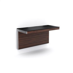 Bdi FurnitureWall Desk 6004 in Chocolate Stained Walnut