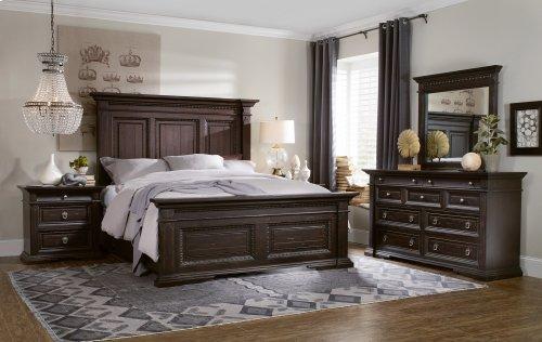 Bedroom Treviso King Panel Bed