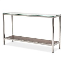 Diversey Consoletable W/glass Top