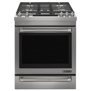"Jenn-AirPro-Style® 30"" Slide-In Gas Range Pro Style Stainless"