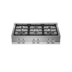 "Bertazzoni36"" Gas Rangetop 6 Burners"
