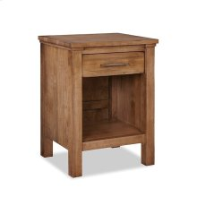 Open Night Stand 1 Drawer w/Power