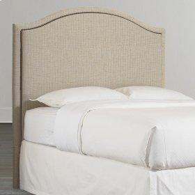 Custom Uph Beds Florence Clipped Corner Twin Headboard
