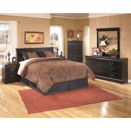 Huey Vineyard Black 2 Piece Bedroom Set