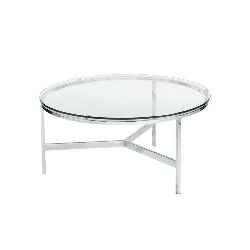 Flato Coffee Table - Silver