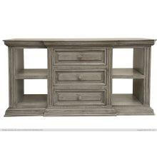 3 Drawer, 4 shelves, Sofa Table