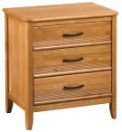 GSP 3-Drawer Pacific Nightstand Product Image