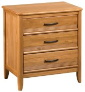 GSP 3-Drawer Pacific Nightstand