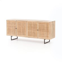 Natural Mango Finish Carmel Sideboard