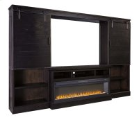 Sharlowe - Charcoal 5 Piece Entertainment Set Product Image