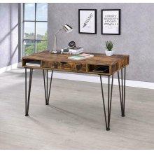 Industrial Antique Nutmeg Writing Desk