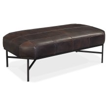Living Room Ellington Rectangular Cocktail Ottoman