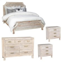Aria 4 Pc Bedroom Set EK