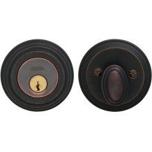 Traditional Auxiliary Deadbolt Kit in (TB Tuscan Bronze, Lacquered)