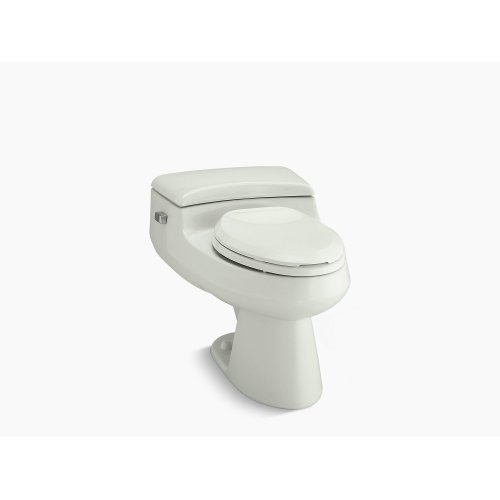 Dune Comfort Height One-piece Elongated 1.0 Gpf Toilet With Pressure Lite Flushing Technology and Left-hand Trip Lever