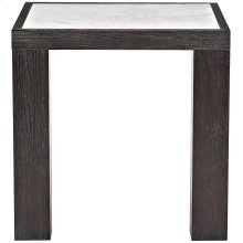 Decorage End Table in Cerused Mink (380)