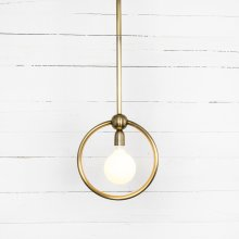 Gracie Pendant-antique Brass