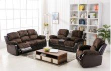 Camilla Two-Tone Champion Chocolate & Brown Sofa
