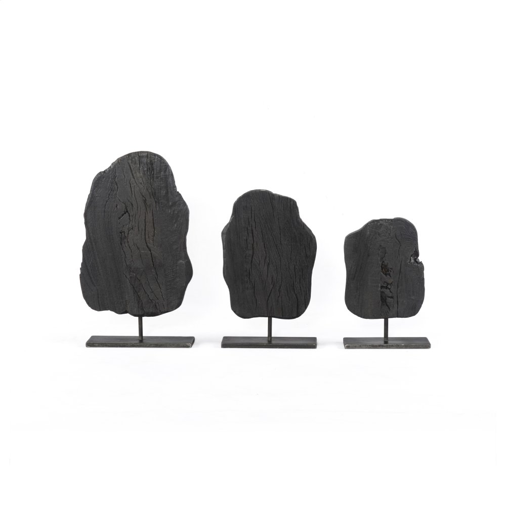 Nohr Sculptures, Set of 3-reclaimed Wo