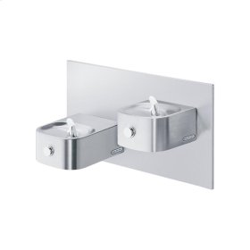 Elkay Soft Sides Bi-Level Reverse Fountain Non-Filtered, Non-Refrigerated Stainless