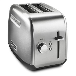 Kitchenaid2-Slice Toaster with manual lift lever Brushed Stainless Steel