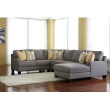 Chamberly - Alloy 4 Piece Sectional