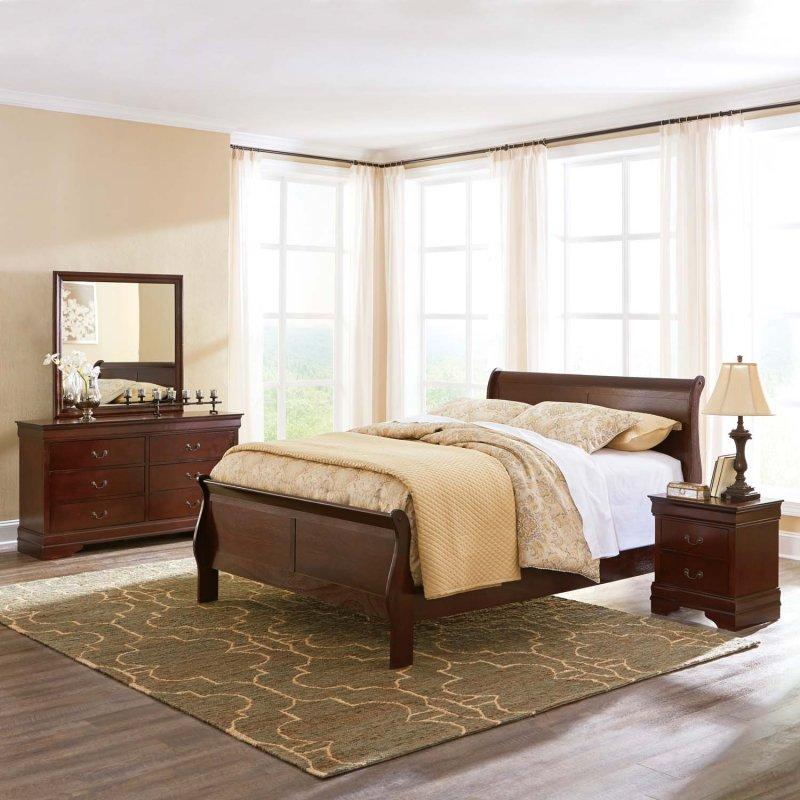 Bedroom Sets Everett Wa b376b1 alisdair - dark brown 2 piece bedroom setashley