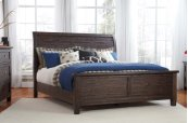 Trudell - Dark Brown 3 Piece Bed Set (King)