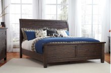 Trudell - Dark Brown 3 Piece Bed Set (King)