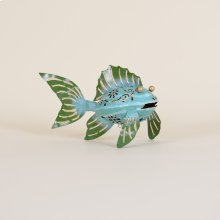 Iron Fish With 1 Fin