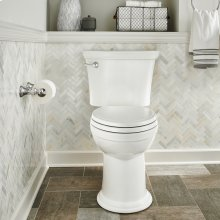 Heritage VorMax Right Height Elongated Toilet - White